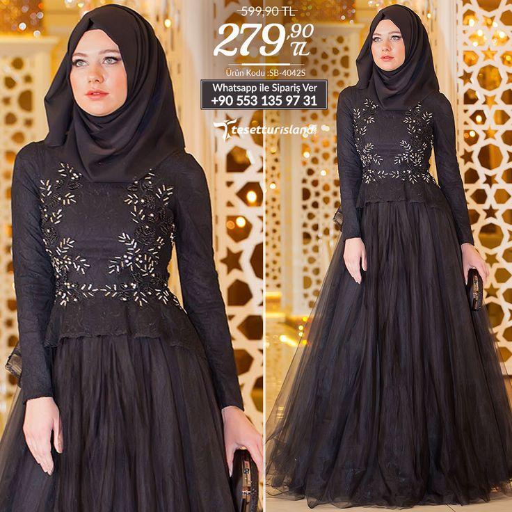Tesettürlü Abiye Elbise - Üzeri Boncuk İşlemeli Siyah Abiye Elbise #tesettur #tesetturabiye #tesetturgiyim #tesetturelbise #tesetturabiyeelbise #kapalıgiyim #kapalıabiyemodelleri #şıktesetturabiyeelbise #kışlıkgiyim #tunik #tesetturtunik