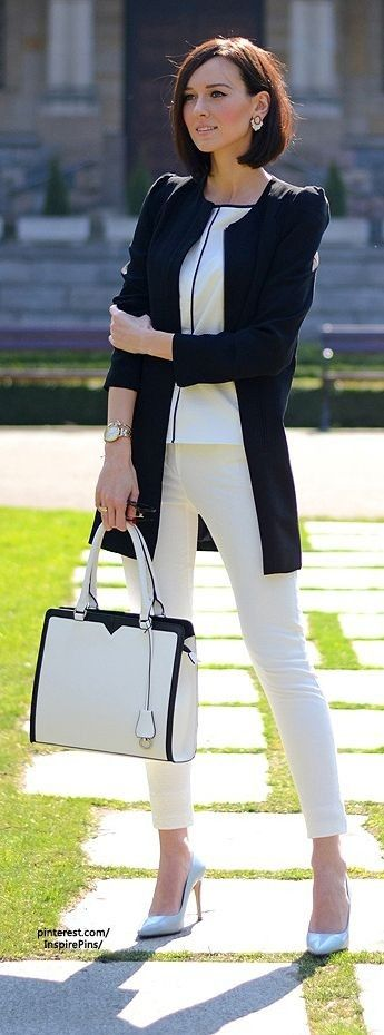 Women's work attire love the bag #womens