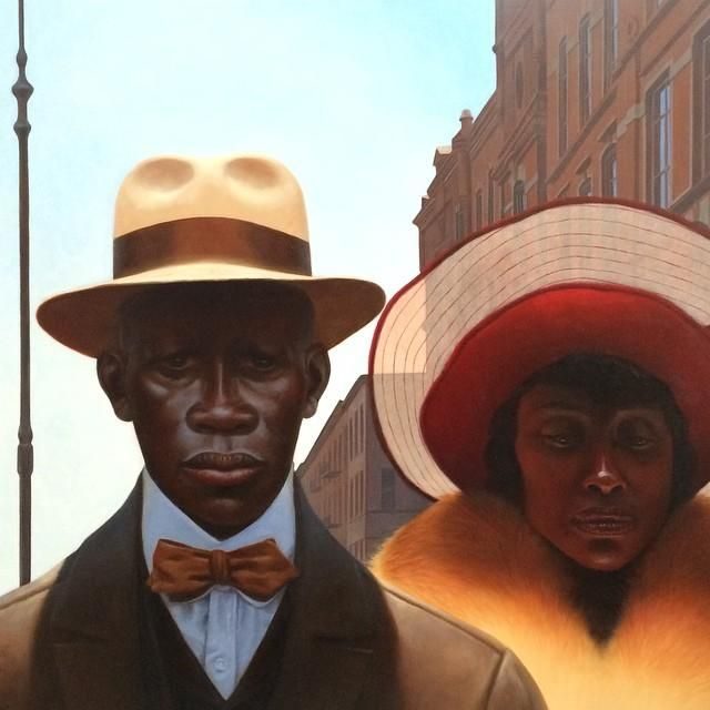 Painting by Kadir Nelson-looks like Sunday Mornings Best on route to church