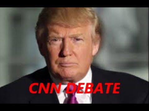 Donald Trump at CNN News Presidential Debate – CNN COMMENTATOR ASKS TRUM...