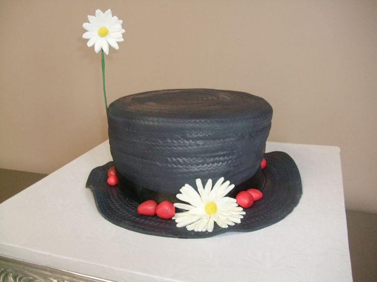 I was asked to do a cake for charity that had a Broadway theme.  I chose a specific (currently running) Broadway show. The people at the charity loved it. I hope it did well in the auction. I haven't seen any Mary Poppins cakes like this before. Thanks for looking!