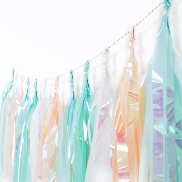 Shimmering Mermaid Tassel Garland – Hello Party