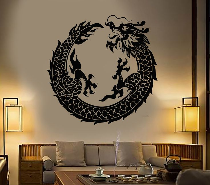 Best Asian Wall Decals Ideas On Pinterest Geometric Wall Art - Custom vinyl wall decals dragon