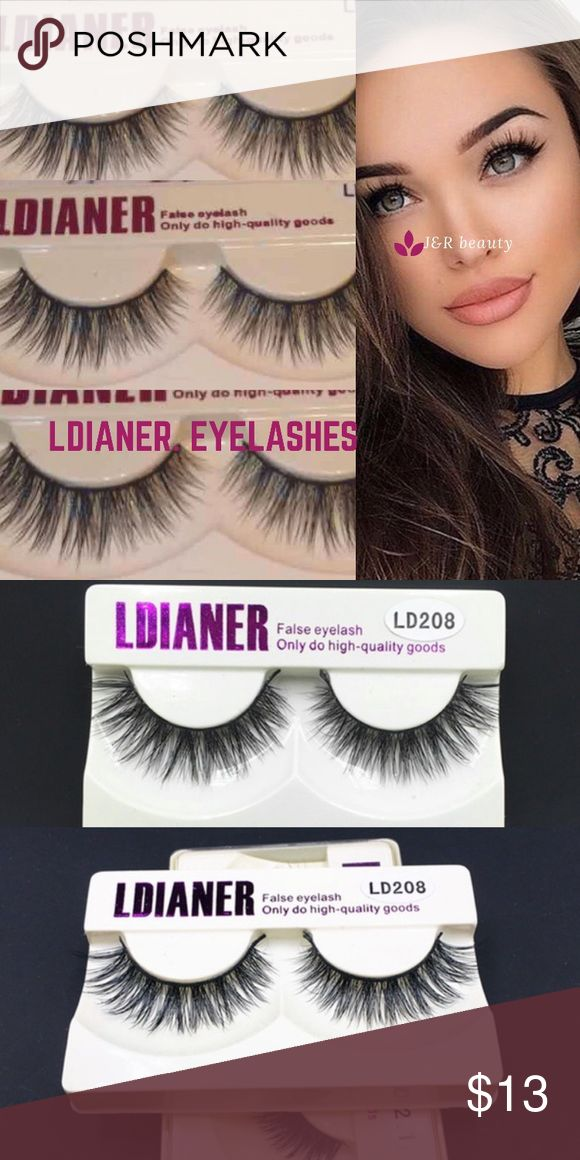 Ldianer eyelashes 3 pairs Multiple use with a proper care Brand new eyelashes 3 pairs :)   # tags Iconic, mink, red cherry eyelashes, house of lashes, doll, kawaii, case, full, natural, Demi , ldianer ldianer Makeup False Eyelashes