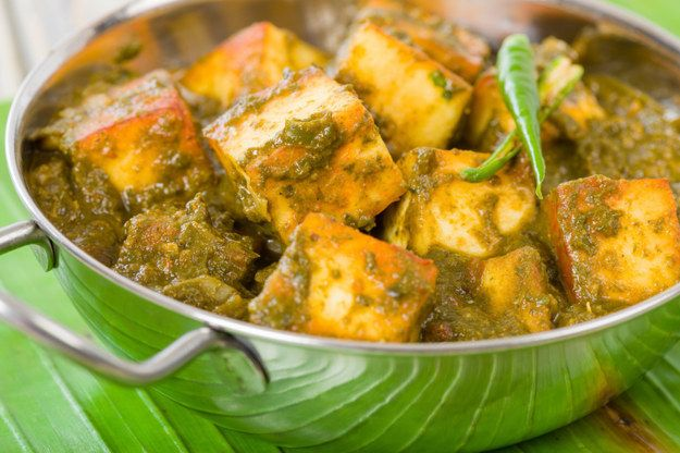 Palak Paneer from Sapna Maheshwari's Mom   28 Vegetarian Take-Out Recipes You Can Make In 30 Minutes Or Less