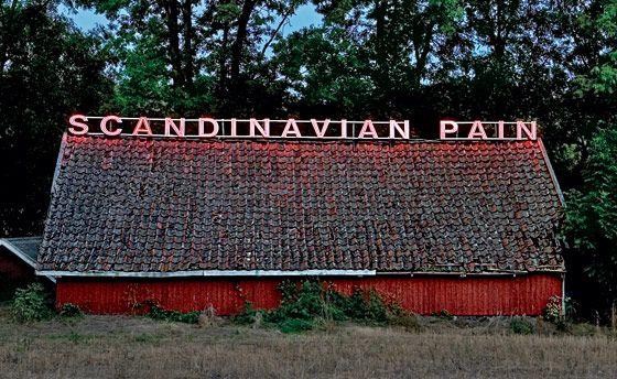 "Ragnar Kjartansson,""Scandinavian Pain (snow 1)"""