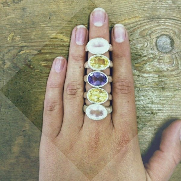 Rose Qurtz Treasure Ring   Daniella Draper Handcrafted Bespoke Jewellery