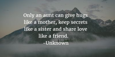 - 29 Best Being An Aunt Quotes - EnkiQuotes