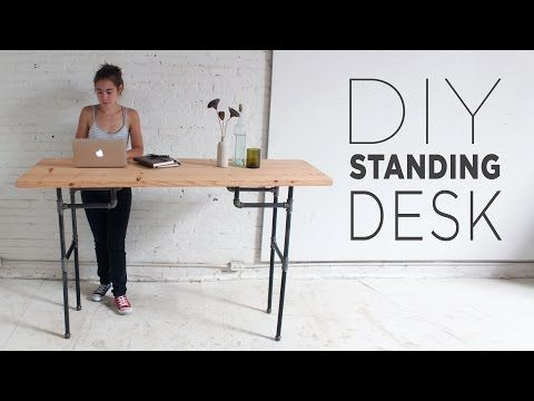 Build a Standing Desk that Converts to a Work Table