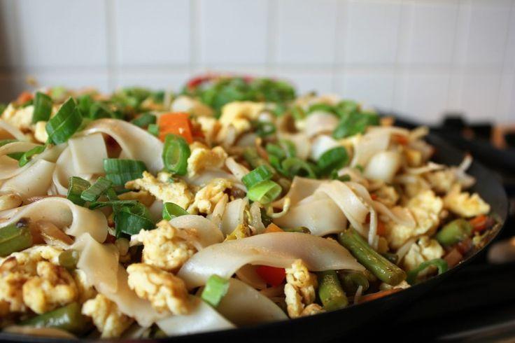 Vegetarische Pad thai – Mijn kookdagboek