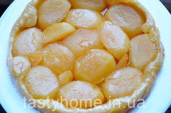 Пирог тарт татен с яблоками -французский пирог-перевёртыш. Пошаговый рецепт приготовления тарт татен с фото.