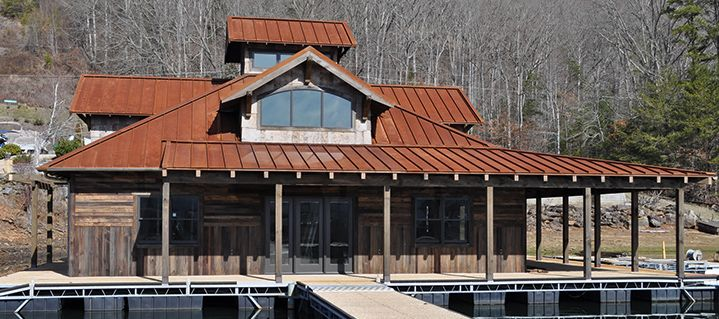 Corten Standing Seam A606-4 Finish | house | Pinterest ...