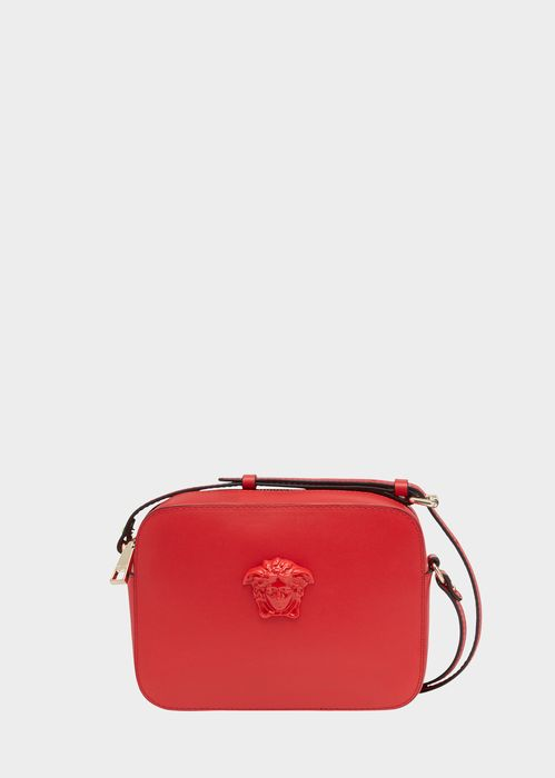 $850 | VERY Simple. Versace Palazzo Calf Leather Shoulder Bag