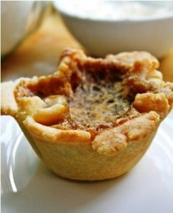 Anna's raisin butter tart