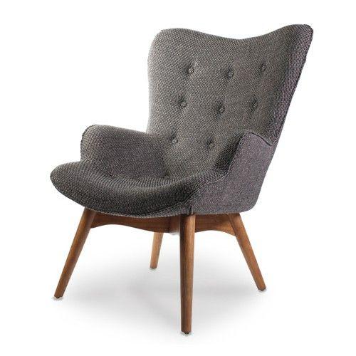 € 345 bij Loods 5 fauteuil-wagon-grijs Voor in de hoek recht van tv. Extra 'leesplek'