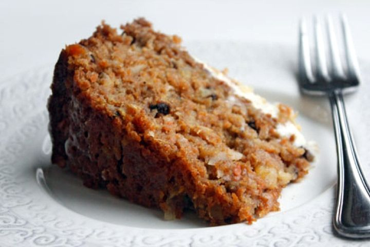 Sugar Free and Vegan Carrot Cake from Food.com