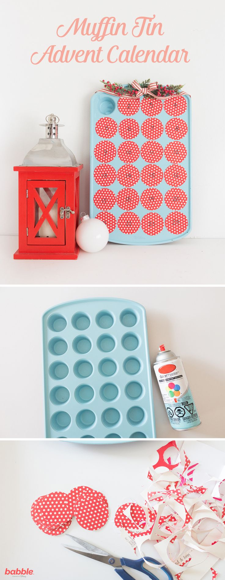Diy Advent Calendar Muffin Tin : Best homemade advent calendars ideas on pinterest
