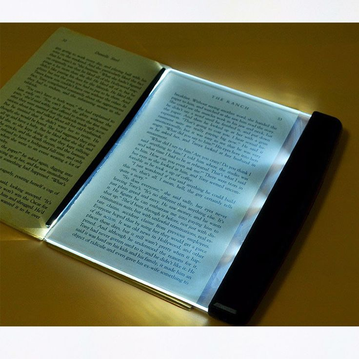 Creative Fashion LED Night Lights Book Light Reading Lamp Novelty Wireless Battery Lamps for Book Read lampara para leer #Affiliate