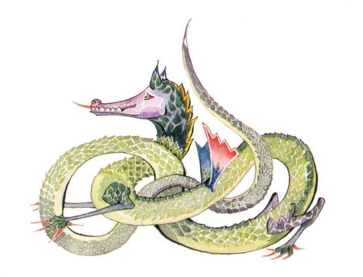 Os incríveis desenhos de J.R.R. Tolkien