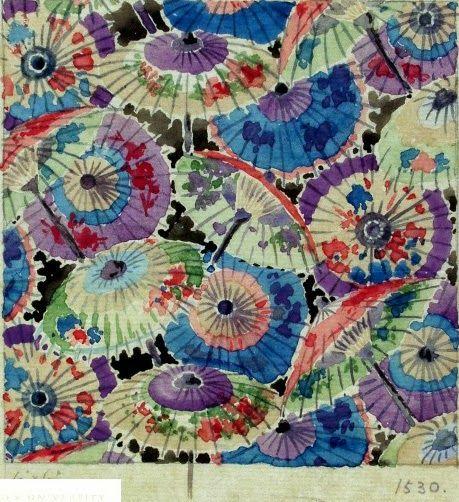 Winifred Mold, Liberty fabric, 1919