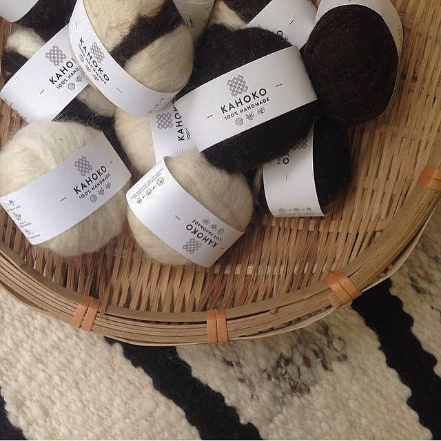 We've extended our @kahoko_handmade family of products. Joining our beautiful rugs are the wool wrapped soaps - simply wet, lather and exfoliate! They also make the perfect drawer freshners. #thoughtful #gifting #handmade #getgive #soaps
