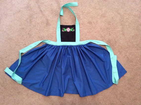Princesa de Disney inspirado Anna vestido por JeannineChristian