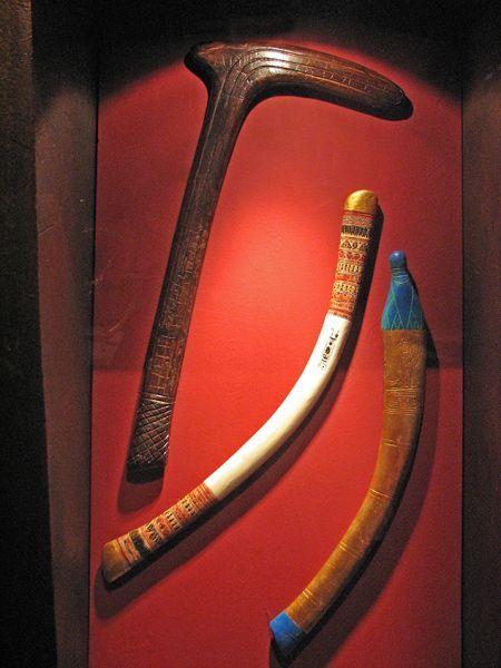 Tesoro de Tutankhamon. Armas y símbolos de poder.