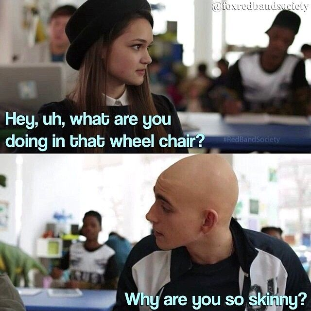 "#RedBandSociety 1x01 ""Pilot"" - Leo and Emma"