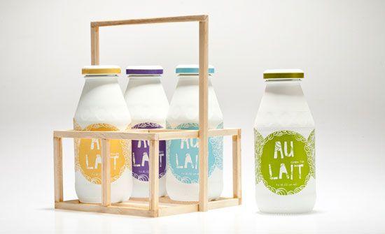 Increíbles diseños de packaging para leche