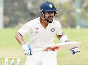 Skipper Virat Kohli and opener Shikhar Dhawan slammed classy centuries as India took firm control of the first cricket Test against Sri Lanka by taking a substantial 192-run lead first innings