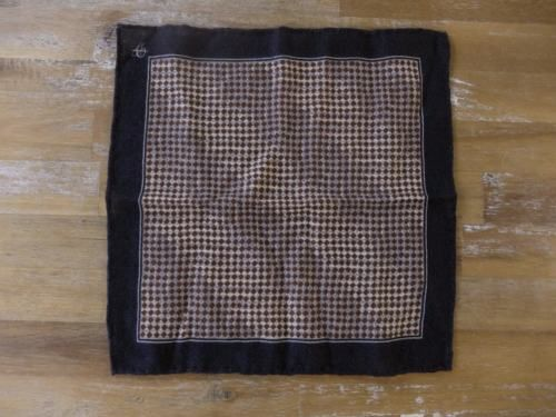 auth CANALI wool pocket square handkerchief - NWOT