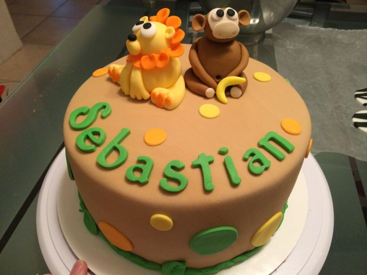 Baby animal baby shower cake. Fort Lauderdale, FL. Cupcake Couture 754 ...