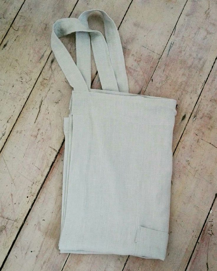 Japanese, linen apron in silver/grey softened linen. Available to order from etsy.com