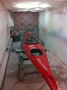 Building a Nimbus kayak. Great small company that specializes in fibreglass kayaks. Learn more.