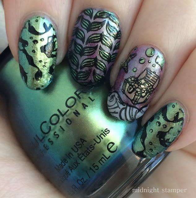 854 best nail stamp pink images on Pinterest   Nailart, Nail nail ...