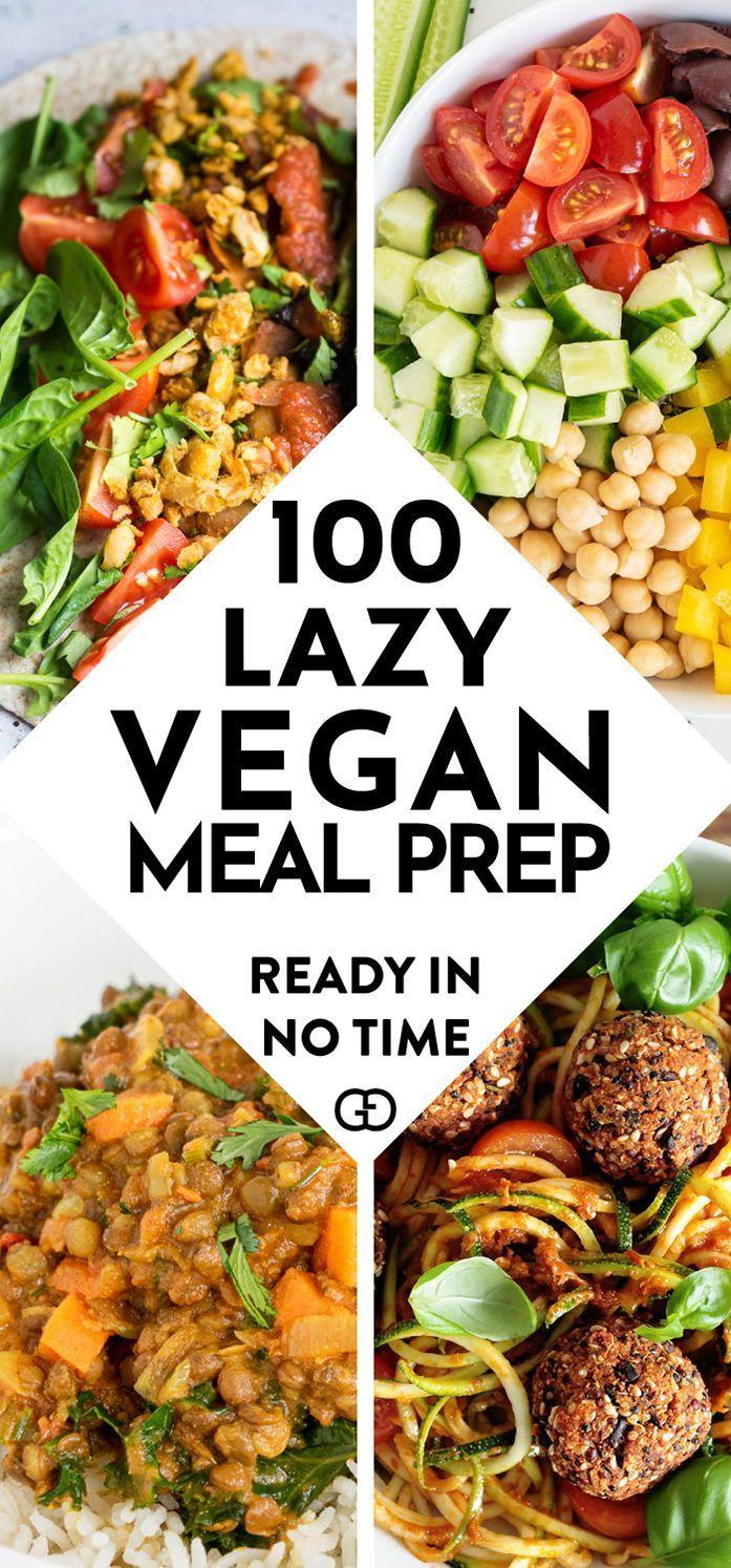 100 Vegan Meal Prep Ideas That Everyone Will Love Recipe Vegan Dinner Recipes Vegan Meal Prep Healthy Recipes