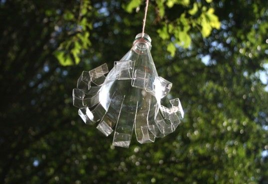 Recycled suncatcher craft