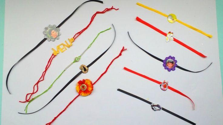 10 BEST Handmade Rakhi designs for Adults and Kids  DIY Rakhi  GENERATION_DIY