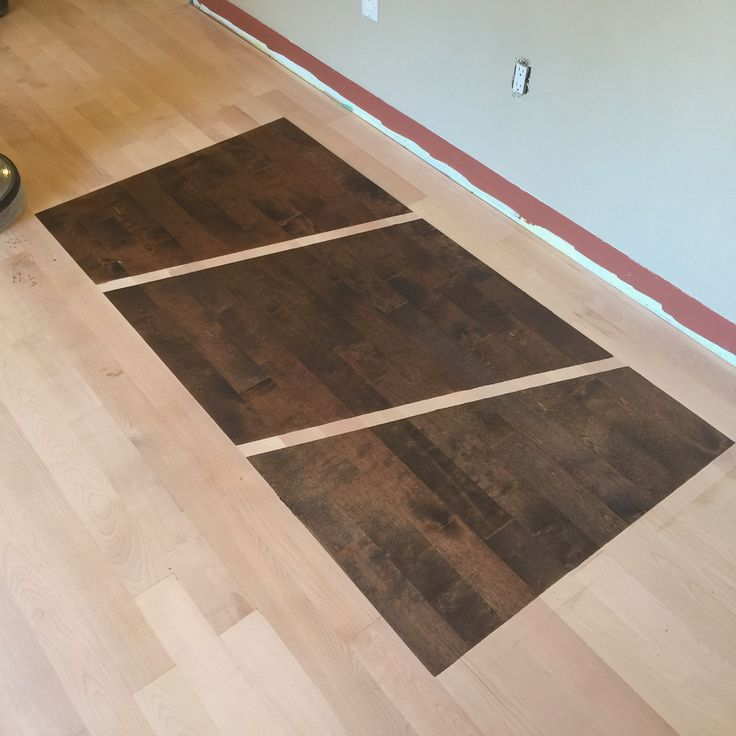 Stain Samples On Birch Hardwood Floor The Best Way To