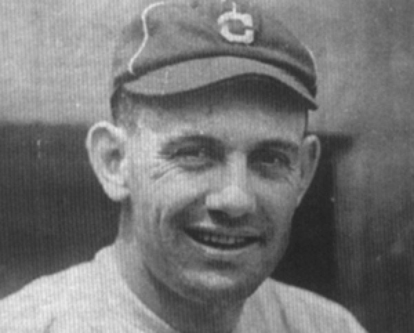 """Ray Chapman, SS Cleveland Indians, on Aug 16, 1920— the only pro baseball player killed by a pitch. It was a """"spitball""""—a ball dirtied, scuffed up or otherwise altered & he never saw the ball coming. Yankee Carl Mays threw a high, inside ball & it connected with Chapman's temple like the crack of a bat. He collapsed, got up & then collapsed again. The spitball was made illegal—except for established pitchers under a grandfather clause. Oddly Batting helmets weren't made a requirement until…"""