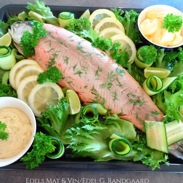 Edels Mat & Vin: Helstekt ovnsbakt ørret til koldtbordet ♪♫