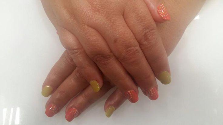 #uñas a todo #color  ¿Te gustan?  Estamos en #NailsFactory Vialia Centro Comercial