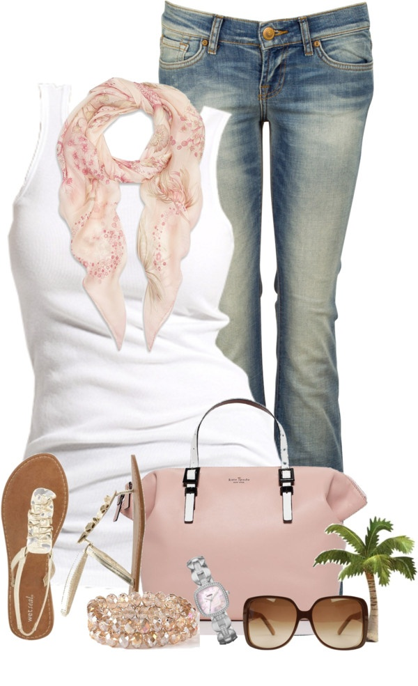 """""""Simple in Jeans"""" by cindycook10 on Polyvore"""