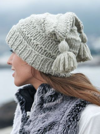 Click to see the yarn; note that yarn is almost sold out.  Pattern book is sold out, but you can get a free copy of the pattern you want from the book when making a Sirdar Big Bamboo yarn purchase.