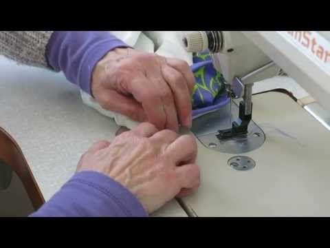 Como coser un bies en un solo paso - YouTube