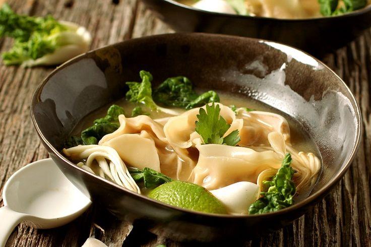 Detox Broth and Chicken Wonton Soup | Nancy's Cravings