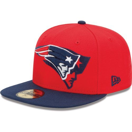 New Era New England Patriots Over Flock 59FIFTY Structured Fitted Hat