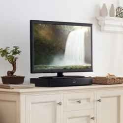 Great TV sound system for someone who lives in a small space. Recommended for 37 inch TVs.