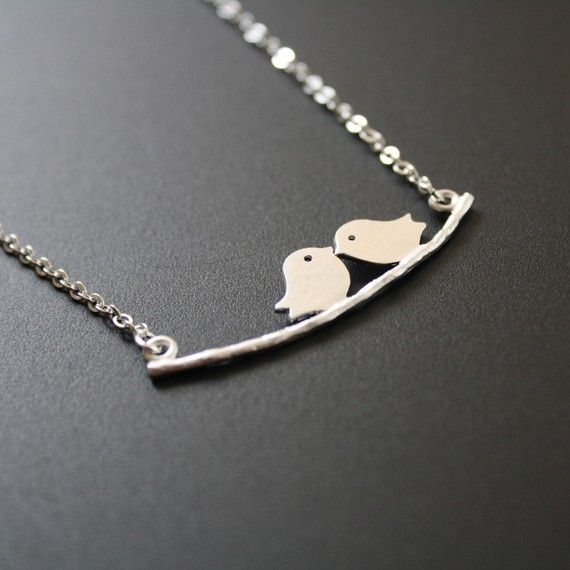 love birds necklace (I saw this necklace in the Charming Charlie shop at WestShore Plaza, Tampa FL)