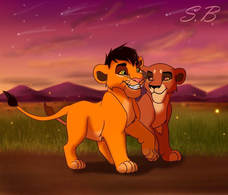 Ahadi And Uru Cub The Lion King Pinterest Art Cubs